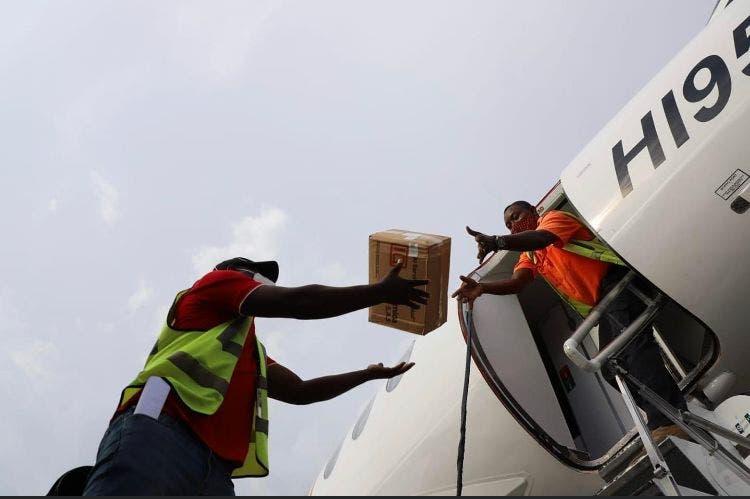 Llega a Haití ayuda del Gobierno de RD