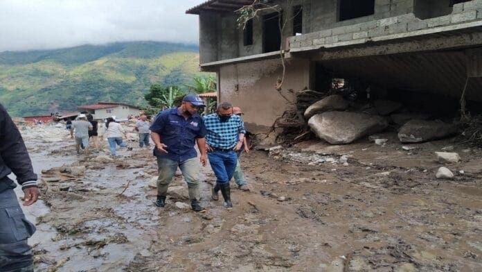 Más de 54 mil personas afectadas por  lluvias en Venezuela