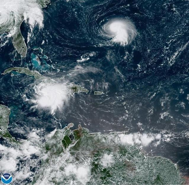 México se prepara para doble embate de ciclón Grace