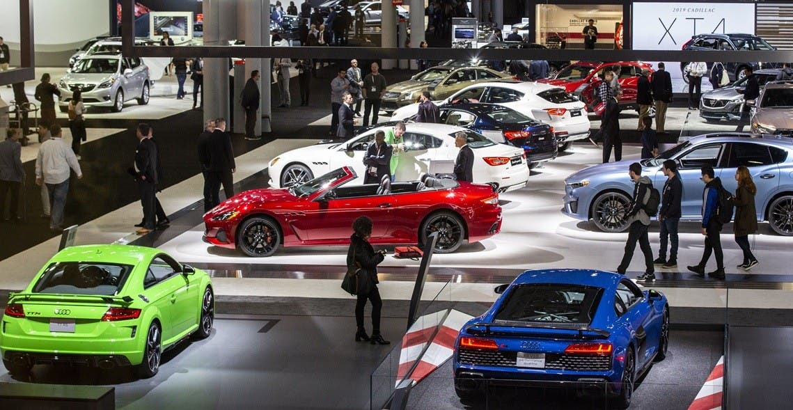 Cancelan show automóviles por variante Delta