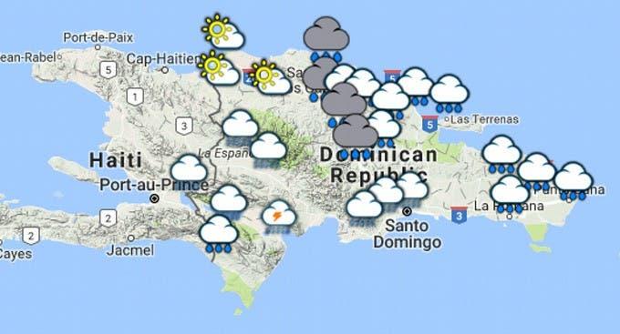 Pronostican disminución de las lluvias en RD