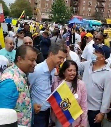 Ecuatorianos reconocen liderazgo concejal dominicano