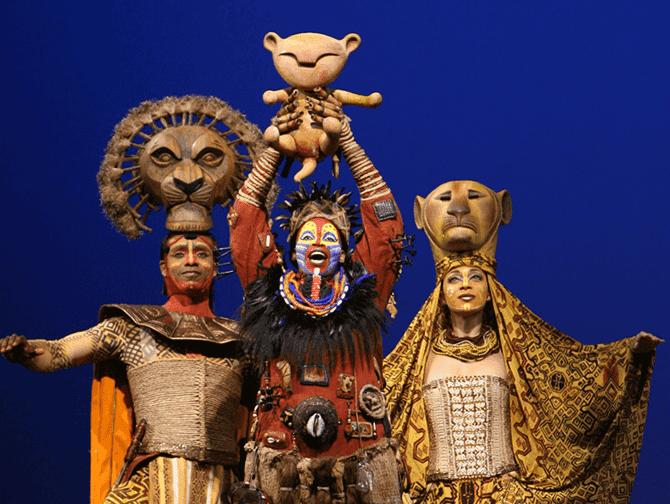 """Broadway renace con la vuelta de """"El Rey León"""" y """"Aladín»"""