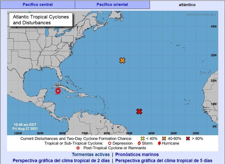 Tormenta tropical Ida amenaza con mayor potencia a Cuba