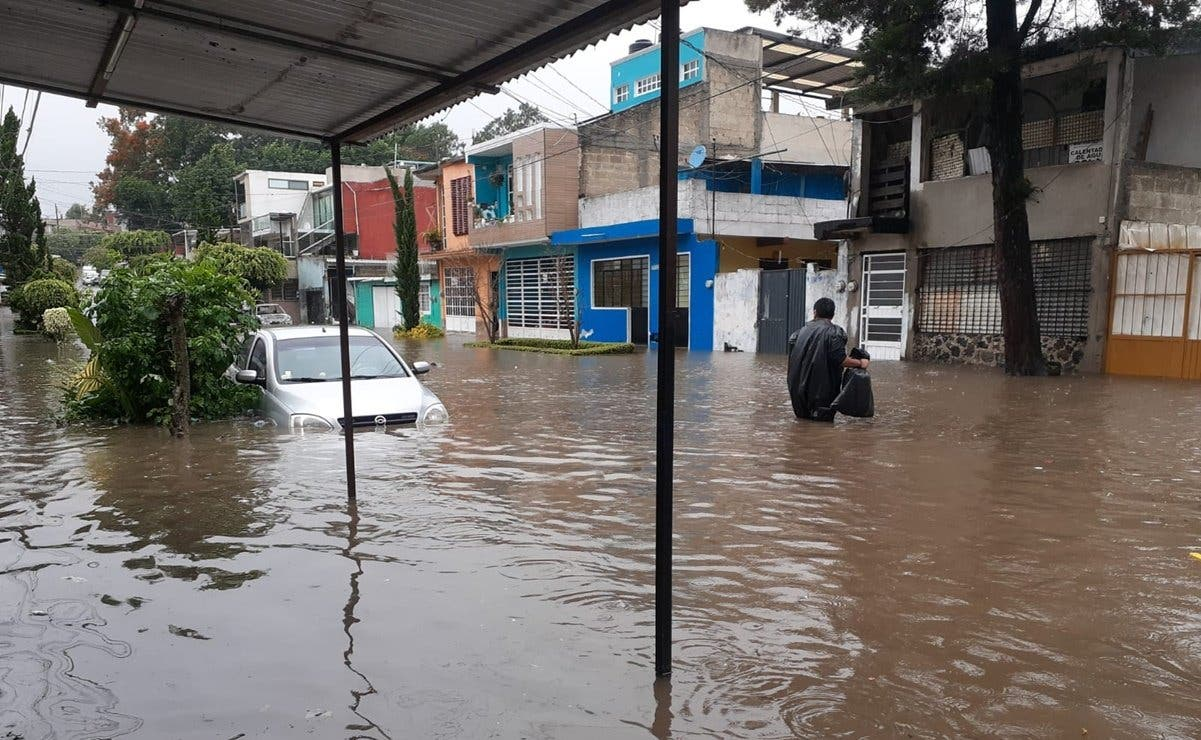 Tormenta Grace inunda capital del estado mexicano de Veracruz