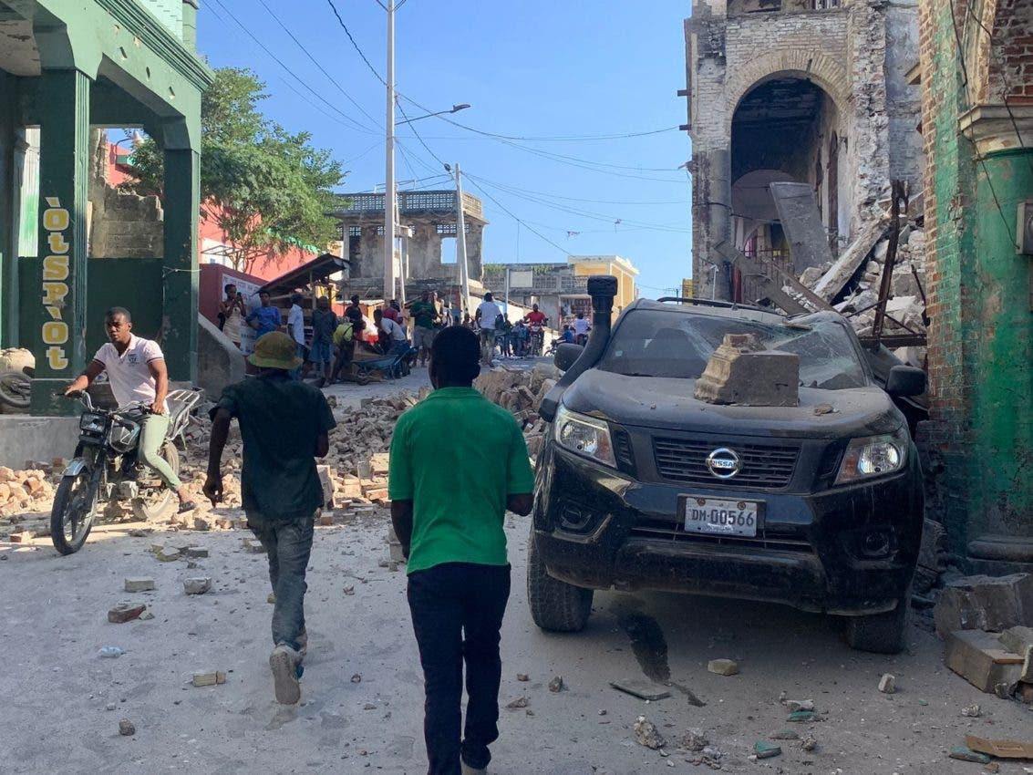 RD envían alimentos y medicamentos a Haití