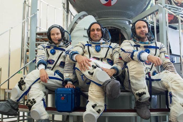Médicos autorizan rodar la primera película en el espacio