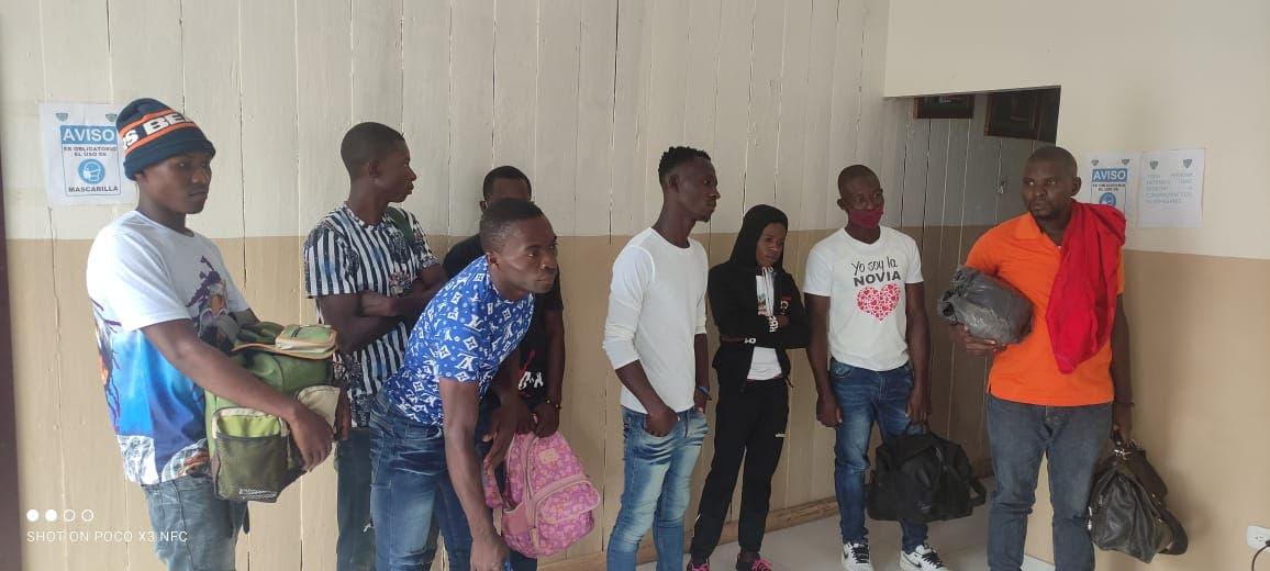 Preparan deportación 45 haitianos ilegales