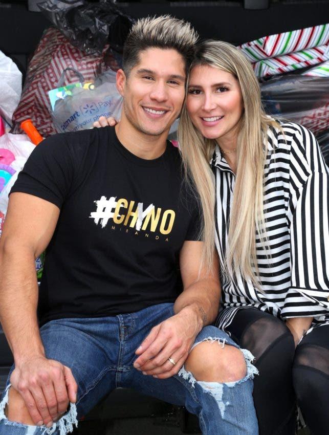 Esposa de Chyno habla tras rumores de crisis matrimonial