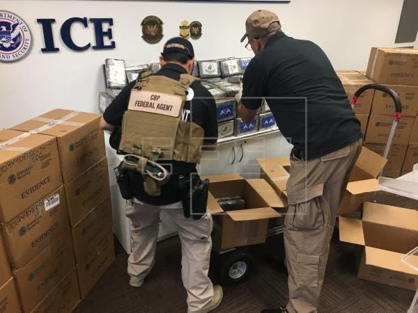 Puerto Rico caé cargamento cocaína valorado 12M de dólares