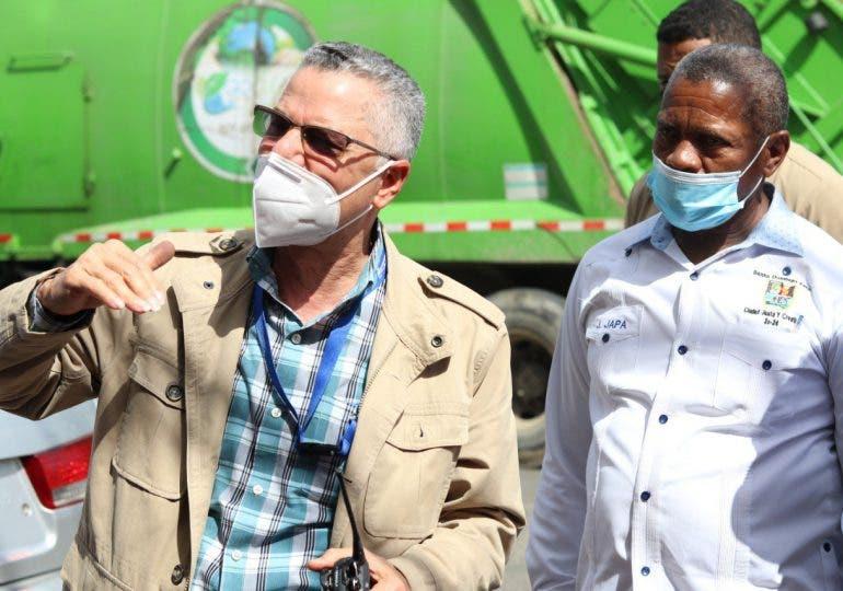 Manuel Jiménez que imite a México en manejo de basura