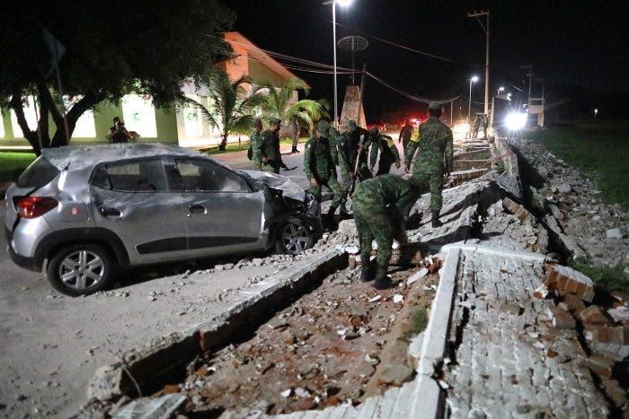 Terremoto de 7,1 afecta centro y sur de México