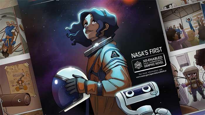 La NASA elige una latina como primera mujer en pisar la Luna en un cómic