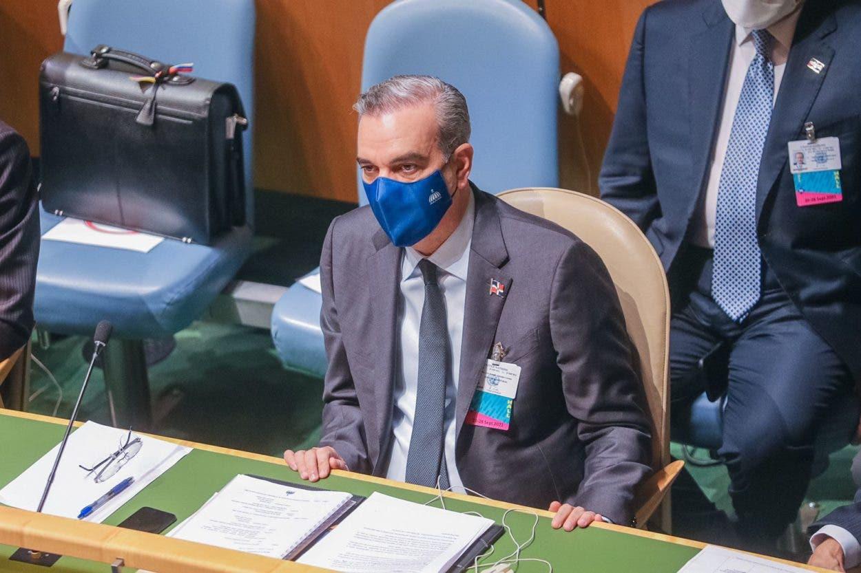 Abinader habla hoy ante la ONU
