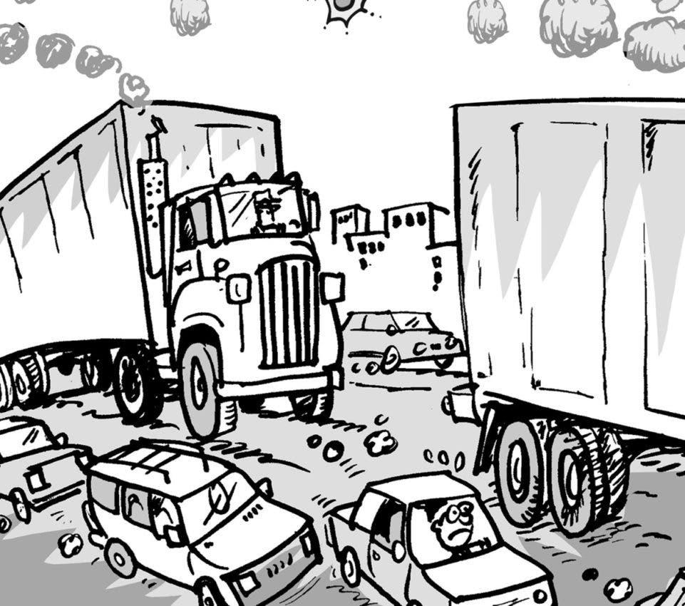 El infierno del tránsito