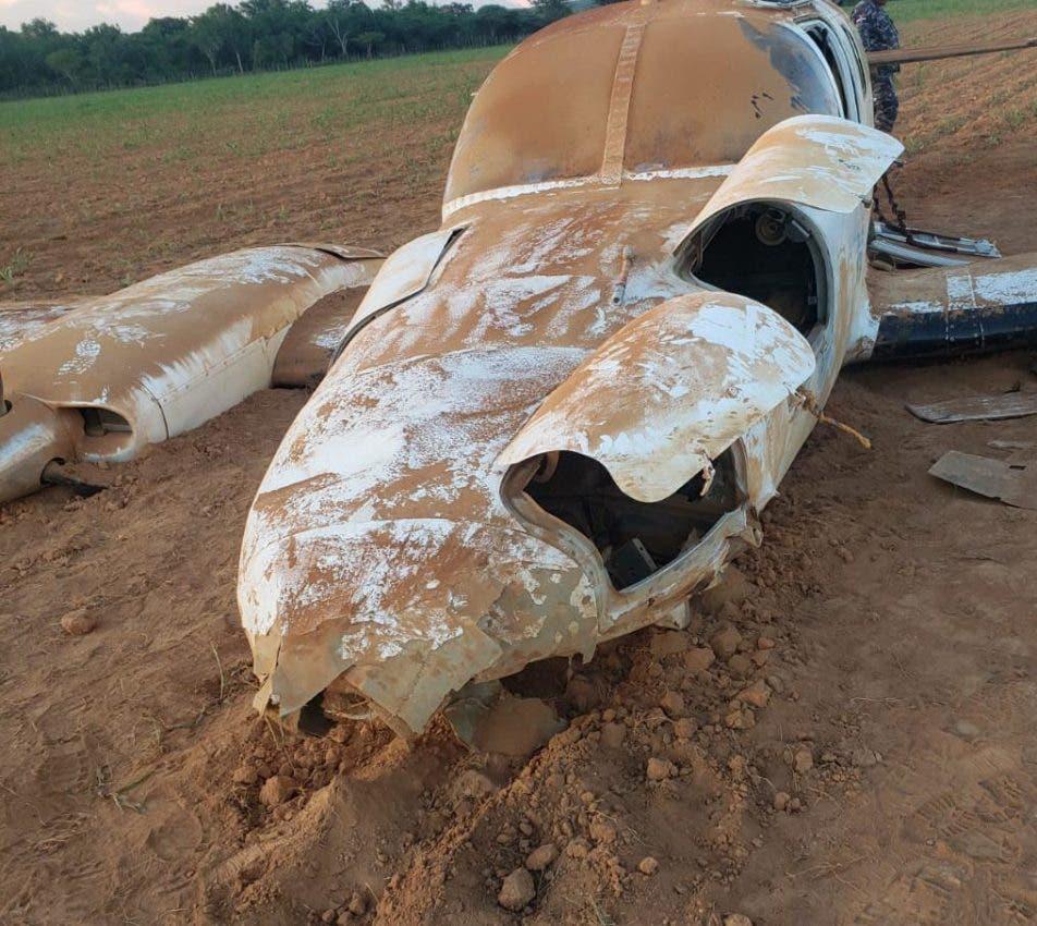 Avioneta cayó en Oviedo tenía 275 paquetes de cocaína