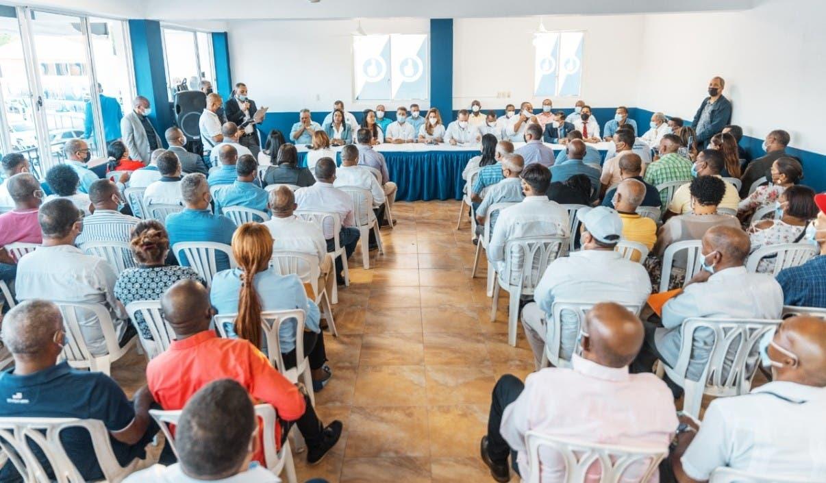 PRM pide militancia apoyar el Gobierno