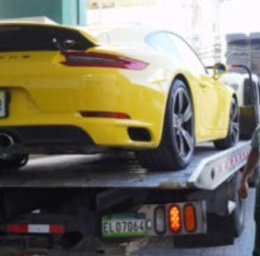 Aún no apresan a conductor Porsche