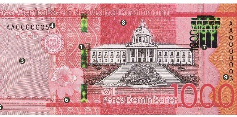Banco Central pondrá en circulación otro billete  de $1,000