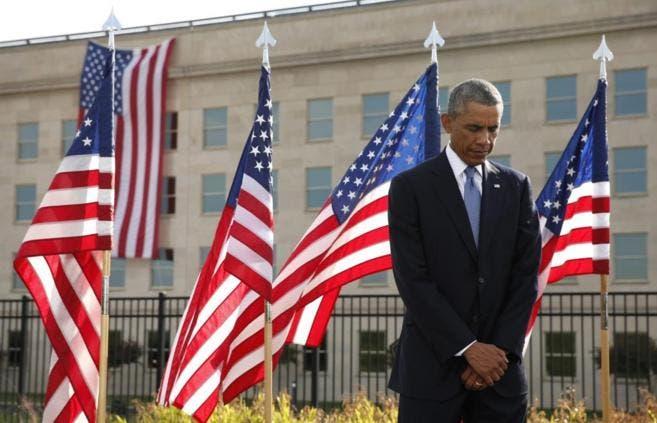 Obama rinde homenaje a los héroes anónimosdel 11-S
