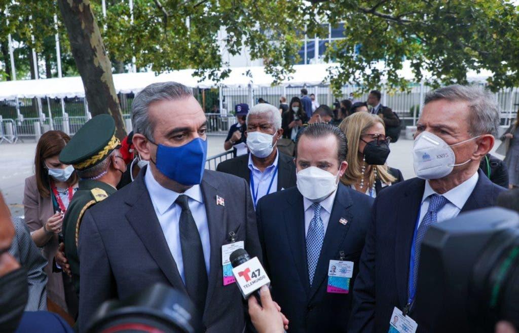 El presidente Abinader, adem{as de hablar ante la ONU, también ha sostenido diferentes encuentros con la ciudad de Nueva York.