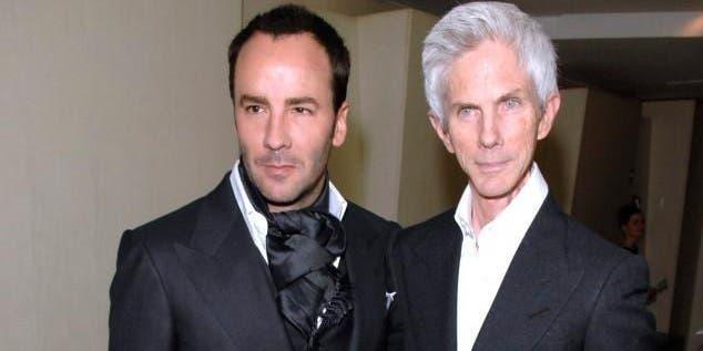 Muere Richard Buckley esposo del diseñador Tom Ford