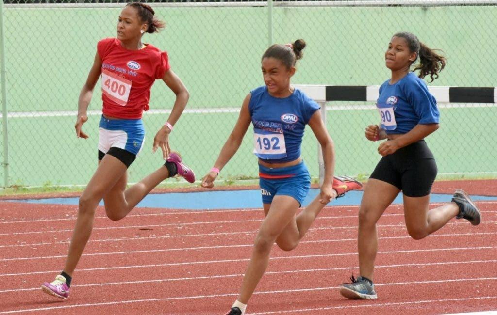 Una de las competencias infantiles organizadas por la Federación Dominicana de Atletismo  que se celebraron en el 2019