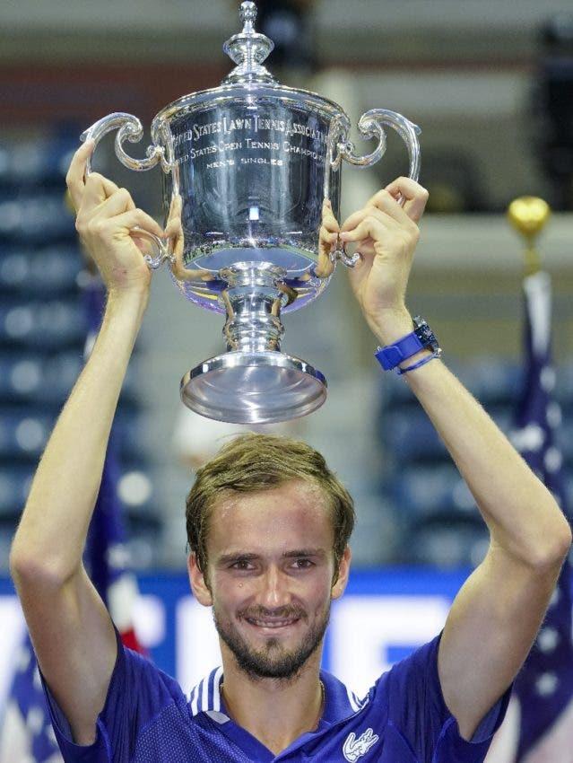 Medvedev Frena el ímpetu histórico de Djokovic en el US Open