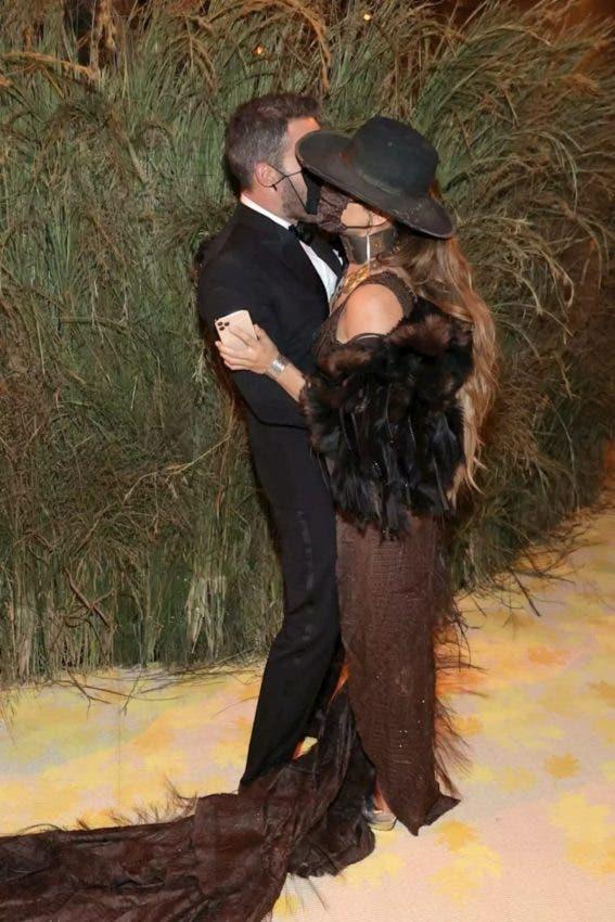 JLo y Ben Affleck en la Met Gala