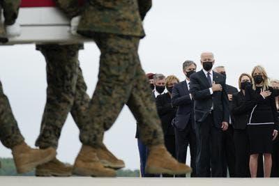 Biden encabeza ahora como jefe de Estado ceremonias del 11-S