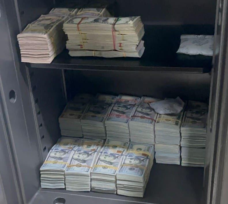 Ocupan en Gascue US$897 mil en requisa ligada red Falcón