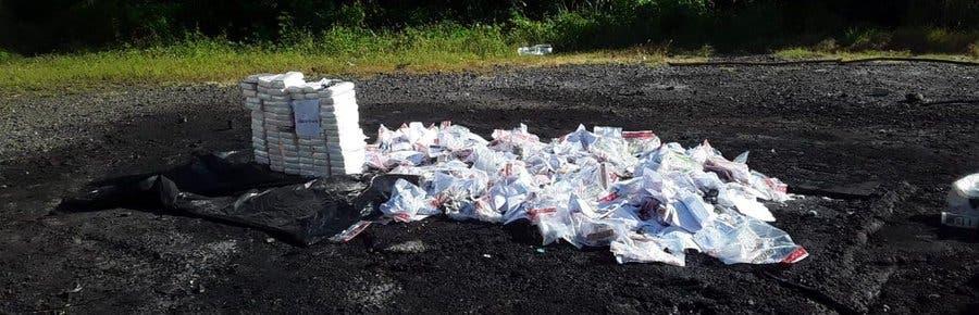 Incineran otros 120 kilogramos de drogas
