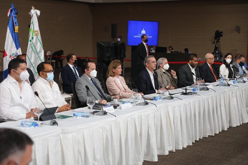 Las siete propuestas de reforma constitucional planteada por el Poder Ejecutivo fueron presenta por el Consultor Jurídico Antoliano Peralta.