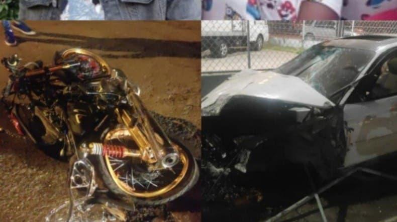 Mueren 7 en accidentes motocicletas