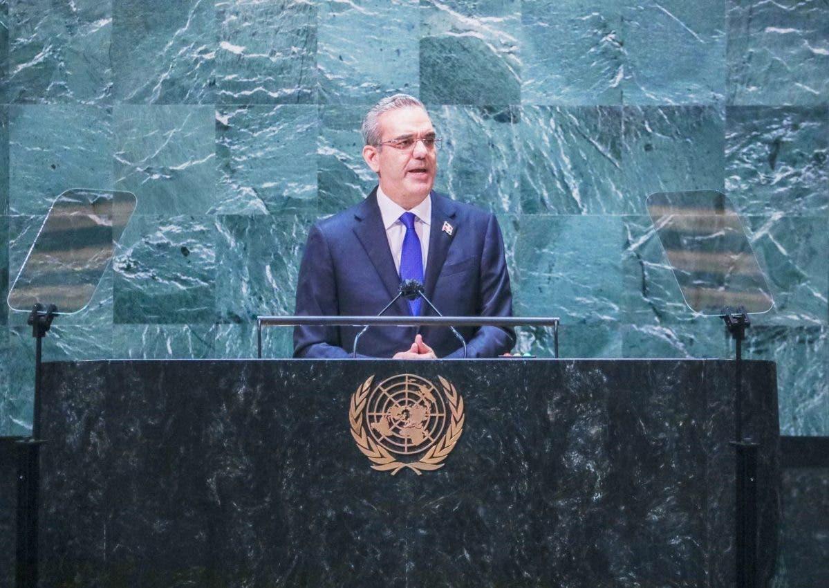 """Abinader pide en ONU asumir con urgencia y de """"una vez y por todas la crisis haitiana"""""""