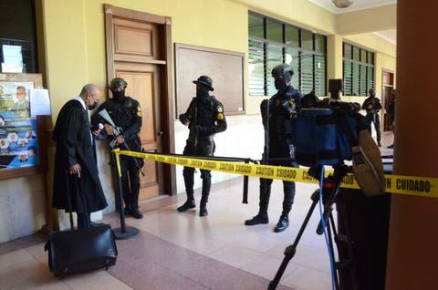 5 horas después continúa audiencia medida coerción implicados operación Falcón