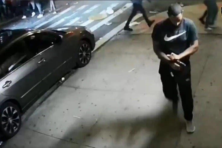 Dispara a mansalva en Alto Manhattan