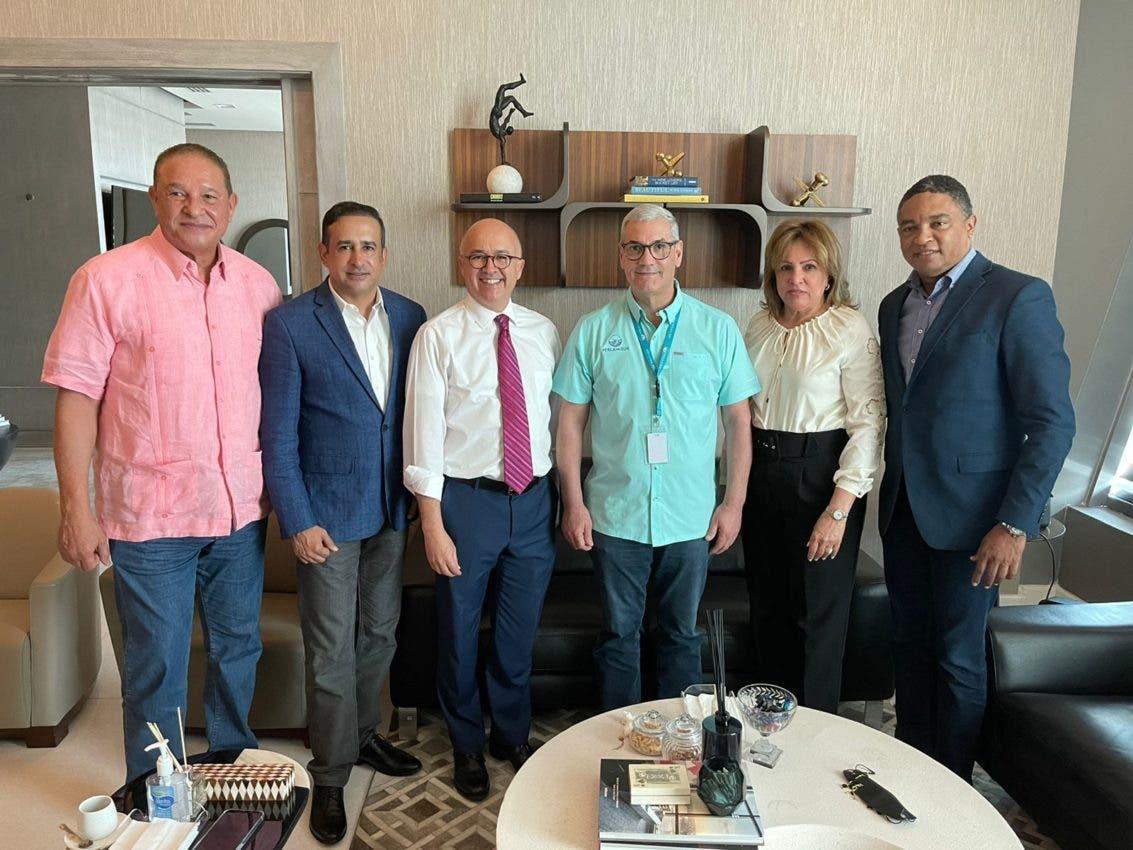 Domínguez Brito se reúne con Gonzalo Castillo