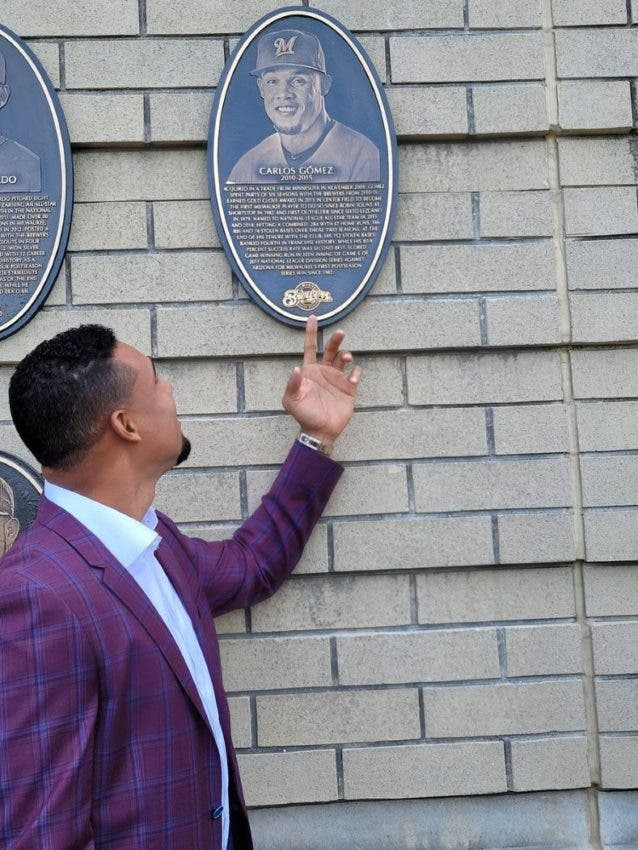 Carlos Gómez exaltado al Muro de Honor