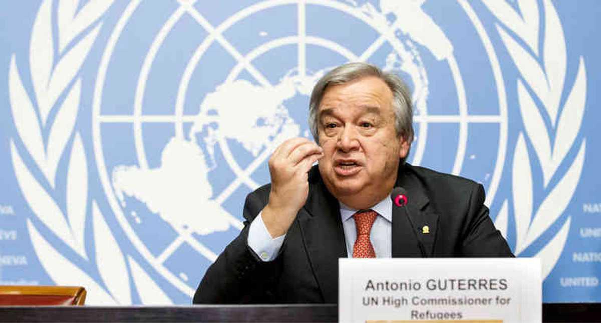 """Guterres cree que las diferencias entre EEUU y China son """"peligrosas»"""