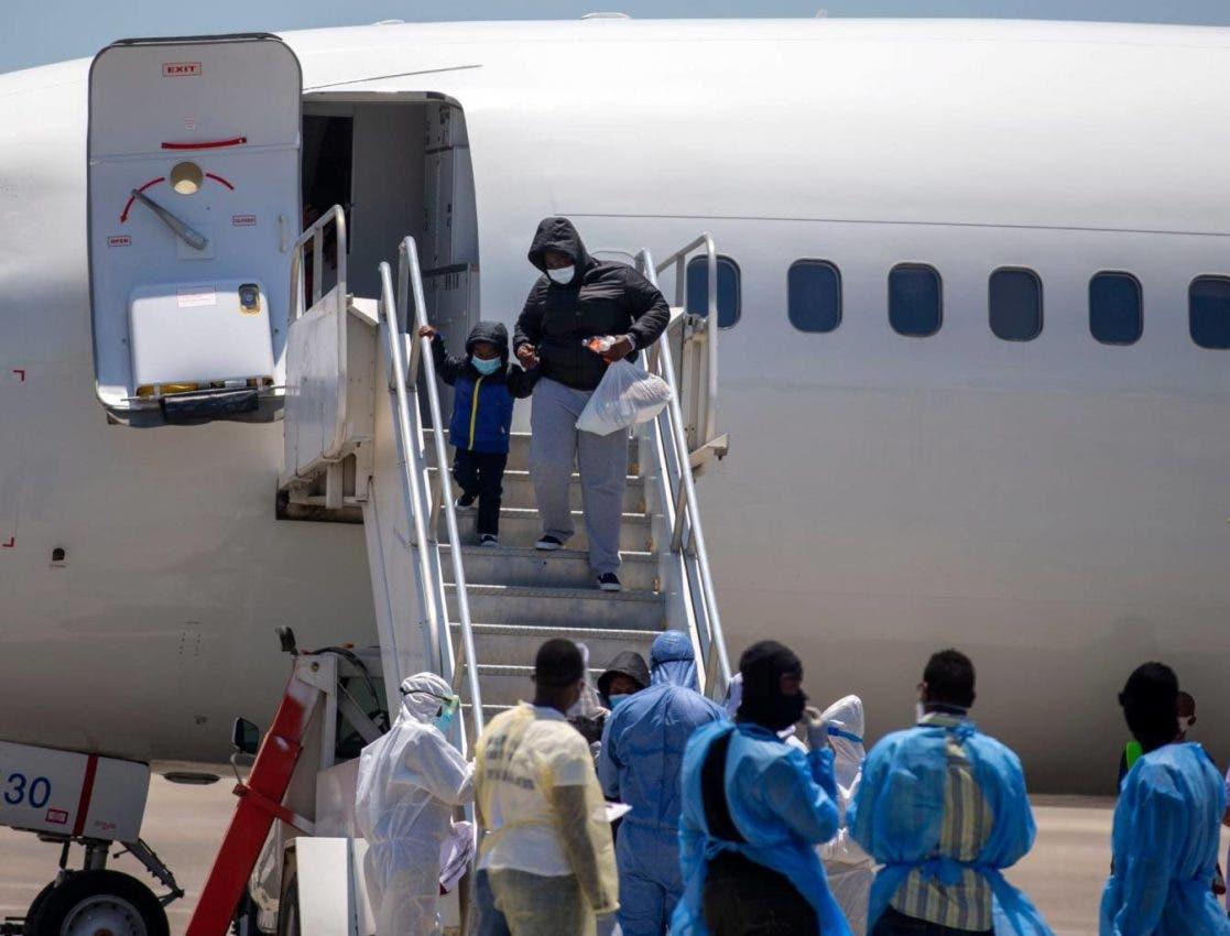 Haití ha recibido a 1,314 migrantes deportados desde Estados Unidos