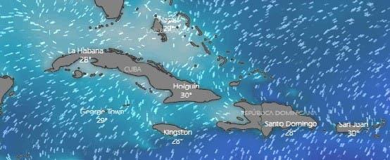 Aguaceros esta tarde y el lunes se complicará oleaje en zona norte