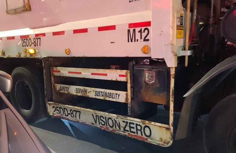 Instalarán protectores a vehículos grandes en NY