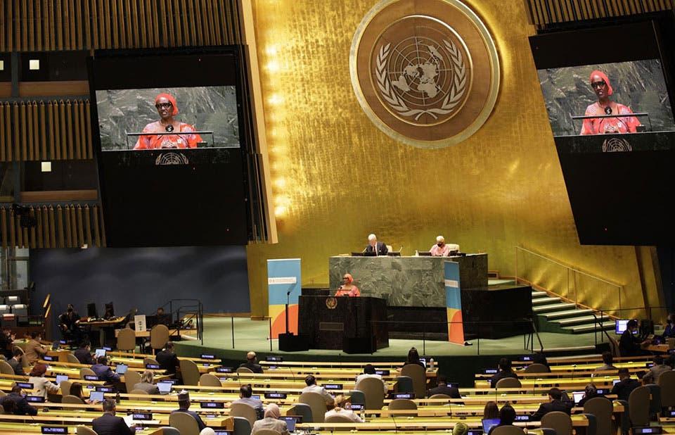 Las mujeres dieron menos de un 10% de discursos en Asamblea ONU