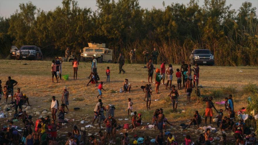 Migrantes haitianos son detenidos en el sur de México y retornados