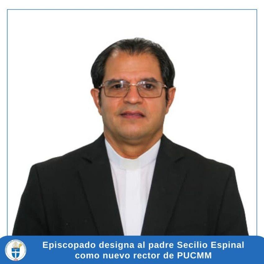 Episcopado designa nuevo rector de la PUCMM