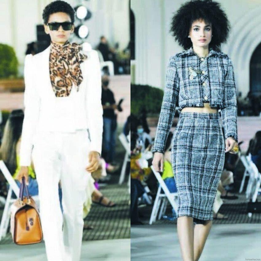 En Raíces-Moca priman los colores vibrantes de otoño/invierno, en tejidos como el algodón y la seda italiana.
