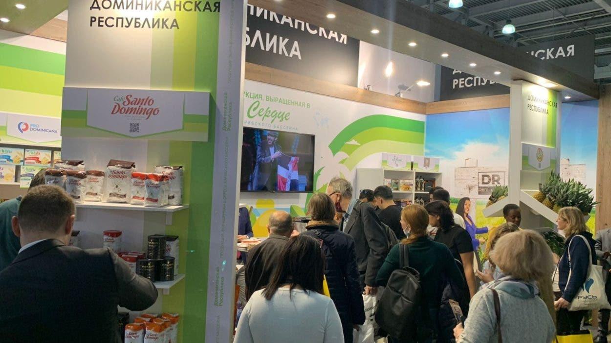 RD tiene éxito en Feria Mundial Alimentaria Moscú 2021