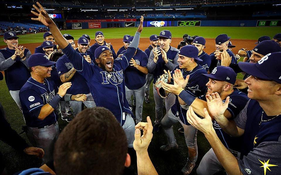 Rays de Tampa Bay avanzan a playoffs