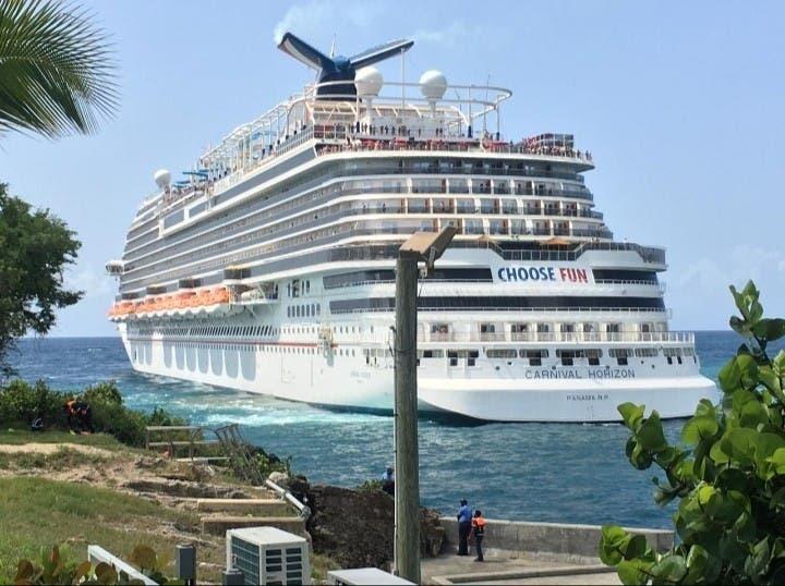 Cruceros reinician visita Casa Campo